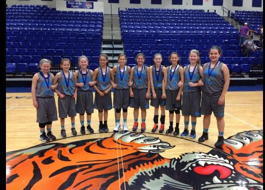 The Blitz-- 6th Grade Girls Division Champs