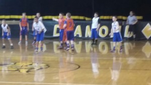 Gym Rats vs Stars in 5b action