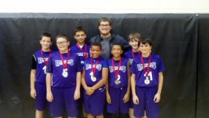 Pittsburgh 2nd place 6 boys