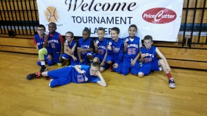 The Springfield Stars    Champions of the 4th Grade Boys Division